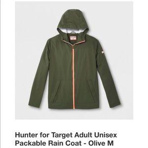 Hunter for Target Unisex Packable Rain Coat